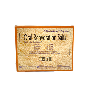 Oral Rehydration Salts with Zinc (Cerelyte)