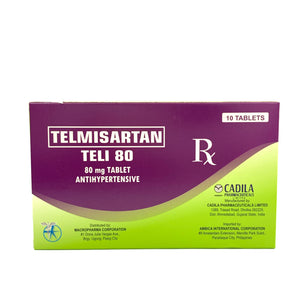 Telmisartan 80mg (Teli-80) (PRESCRIPTION REQUIRED)