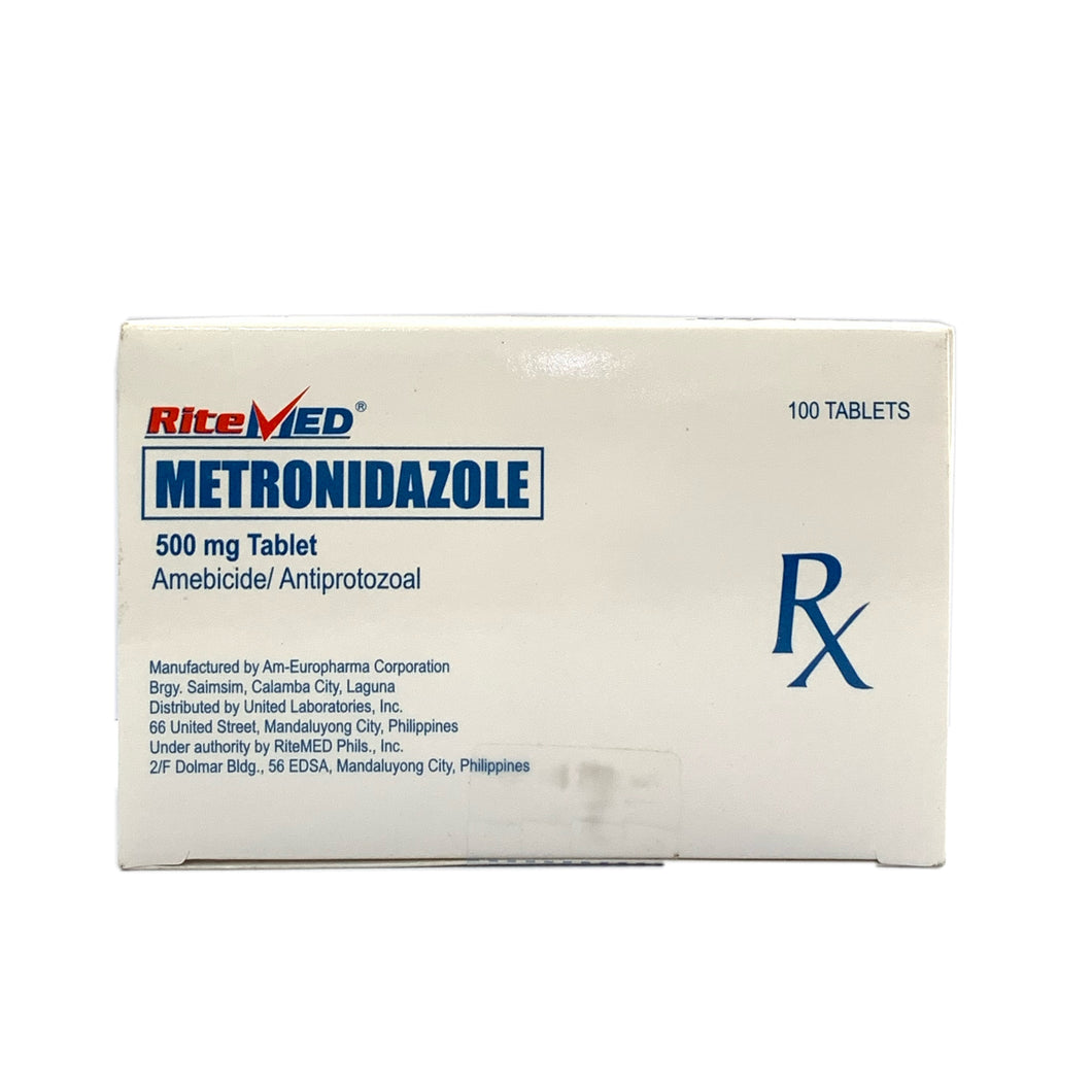 Metronidazole 500mg (Ritemed) (PRESCRIPTION REQUIRED)