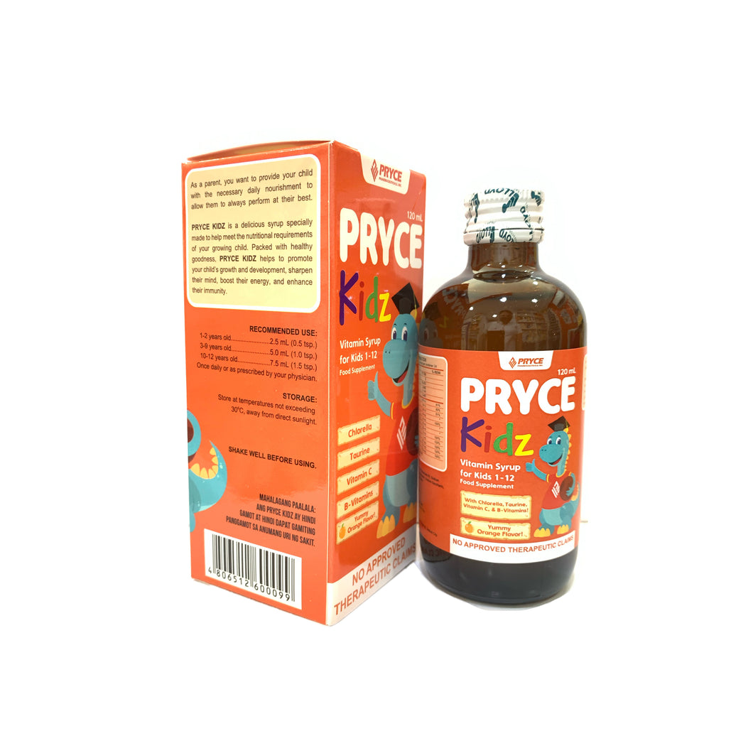 Pryce kids- 120mL