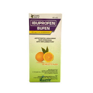 Ibuprofen suspension 200mg/5mL- 60mL