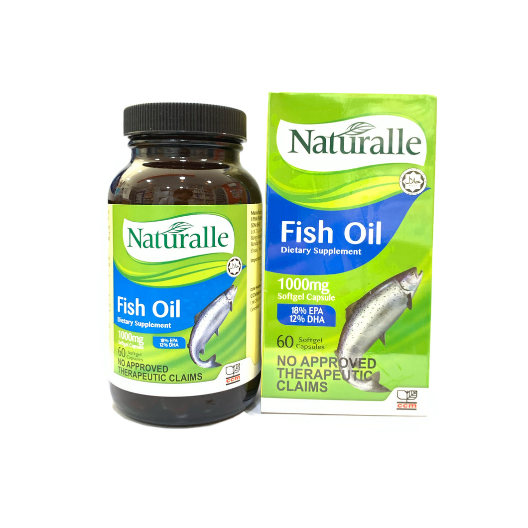 Omega Fish oil (Naturalle) 1000mg