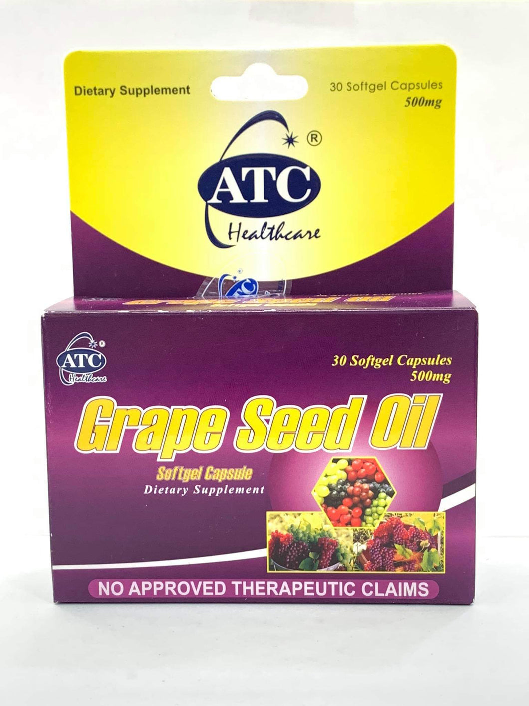 ATC Grapeseed Softgel Capsule - 30s