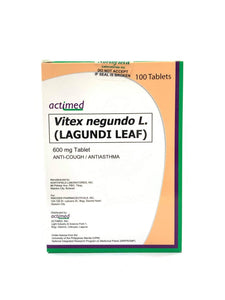 Actimed Lagundi  600mg Tablet - 30s