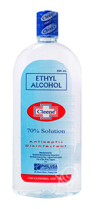 CLEENE 70% ETHYL ALCOHOL-500ML