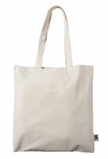 FT 0129 NT - Fairtrade Cotton Simple Shoulder Bag