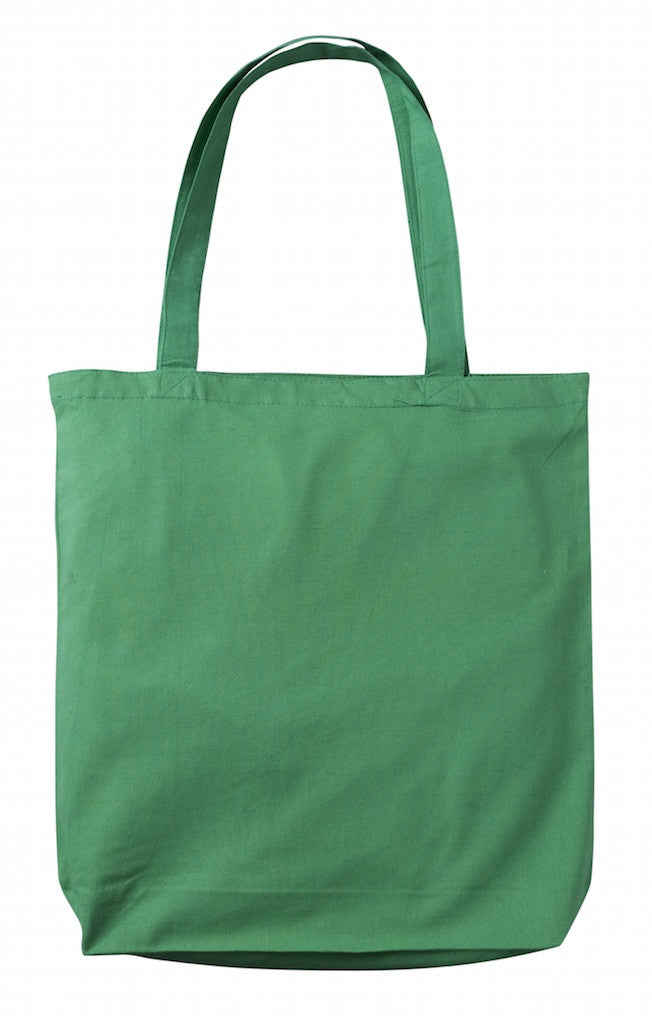 CN 0131 GR – Green Cotton Tote Bag