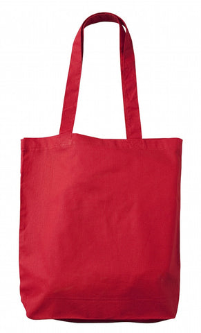 TB 0131 CN – Red Cotton Tote Bag