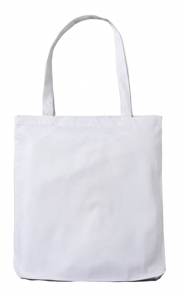 CN 0131 WT – White Cotton Tote Bag