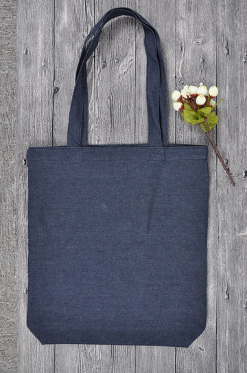 DN 0131 BL (Blue Denim Tote Bag)