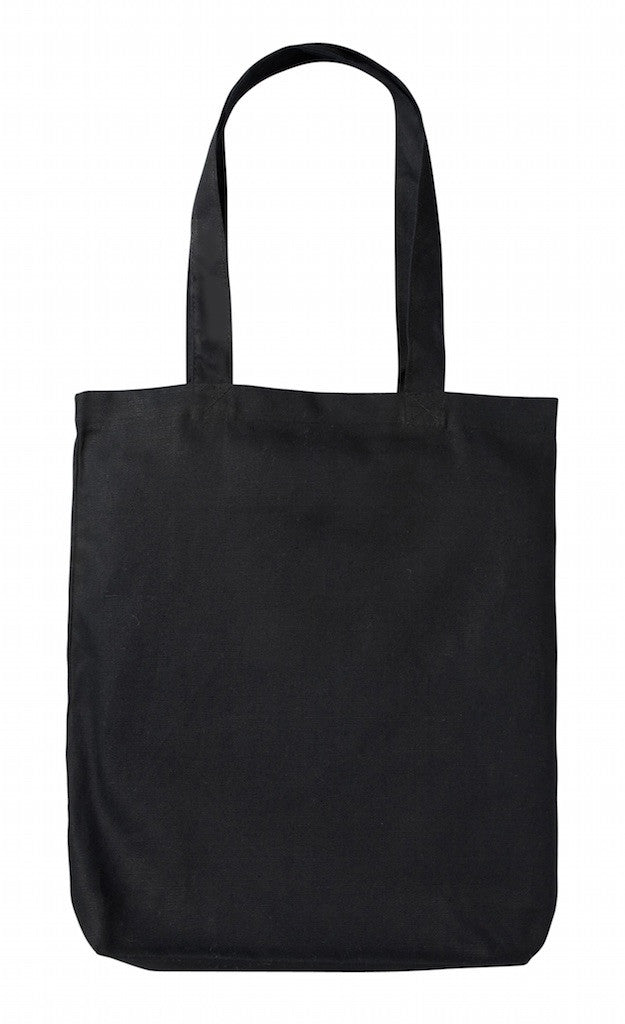 HC 0131 BK - (Black Heavy-weight Canvas Tote Bag)