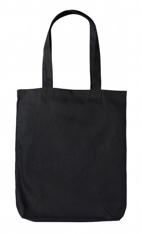 TB 0131 HC - BK (Black Heavy-weight Canvas Tote Bag)