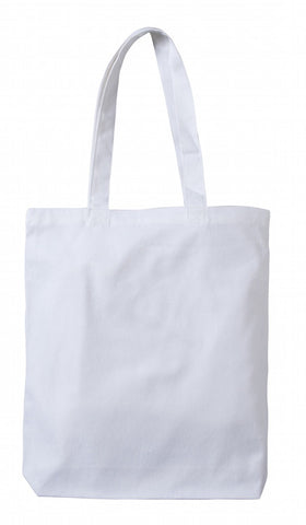 TB 0131 HC - WT (White Heavy-weight Canvas Tote Bag)