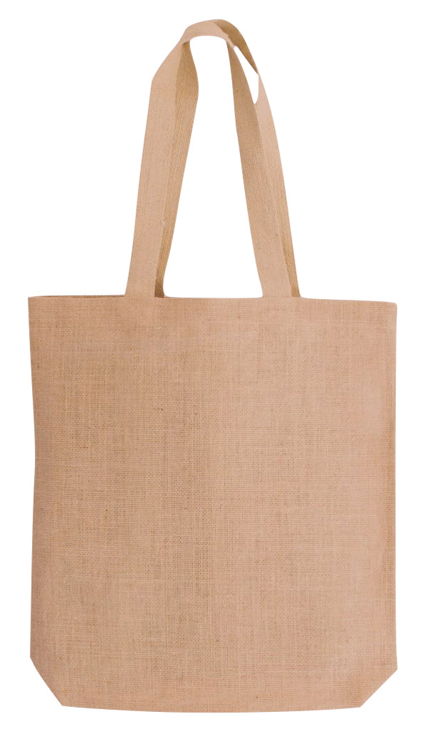 J 0131 NT - Raw Jute Tote Bag