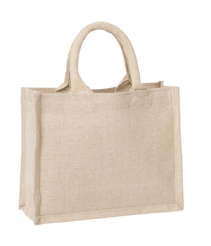 TB 0135 JCO - Mini Laminated Juco Bag