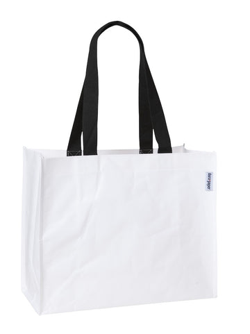 DP 0137 WT - DuraPaper Shopper (White)