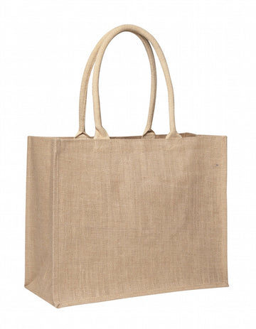 LJ 0137 NT - Laminated Jute Supermarket Bag