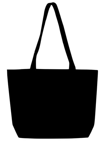 TB 0139 HC - BK (Black Heavy-weight Canvas Market Bag)
