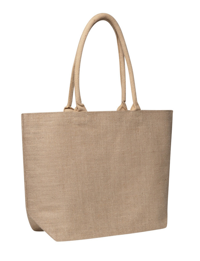 LJ 0139 NT - Laminated Jute Market Bag