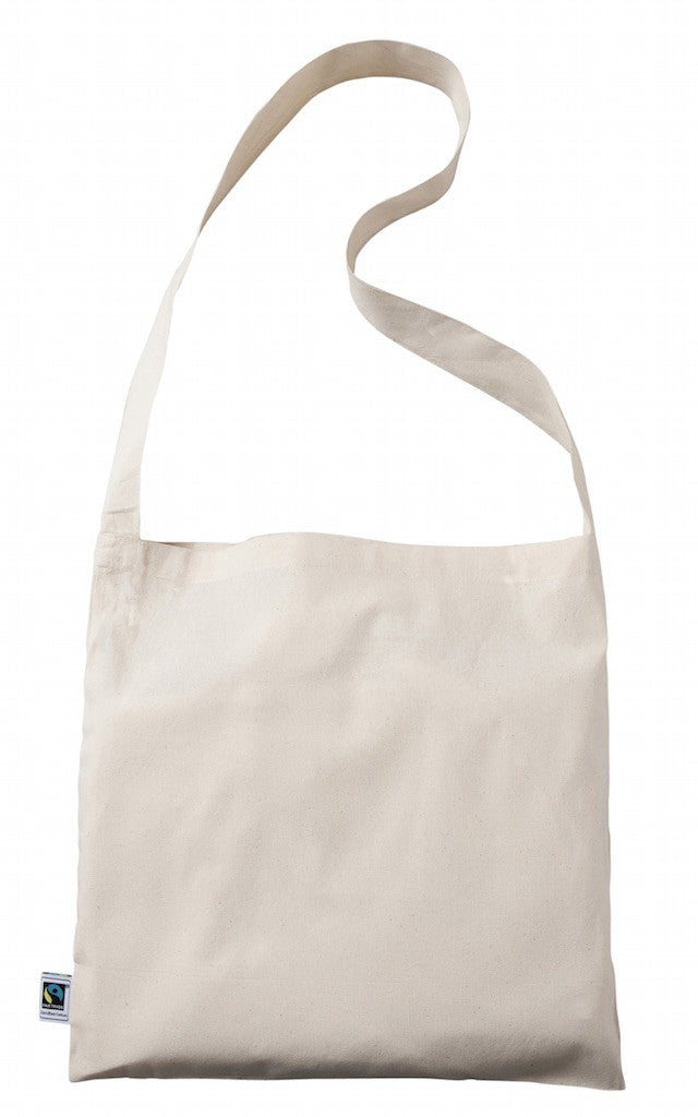 TB 0142 FT - Fairtrade Cotton Messenger Bag