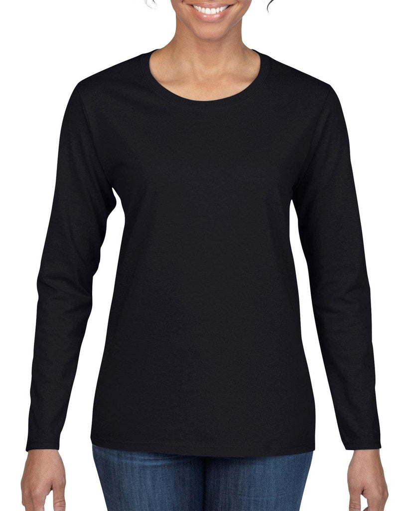 Gildan Heavy Cotton Adult Long Sleeve T-Shirt (Ladies)