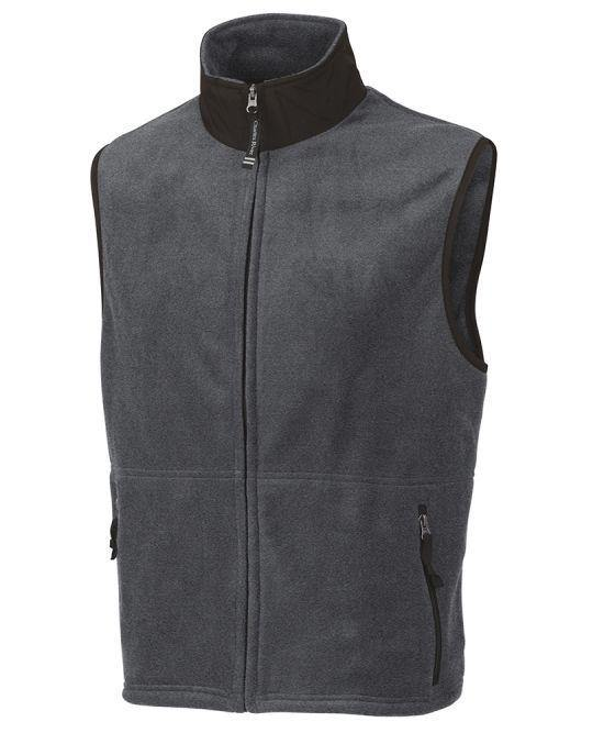 Charles River Apparel Men's Ridgeline Fleece Vest - GroupGear