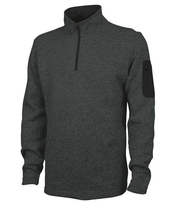 Charles River Apparel Men's Heathered Fleece Pullover - GroupGear