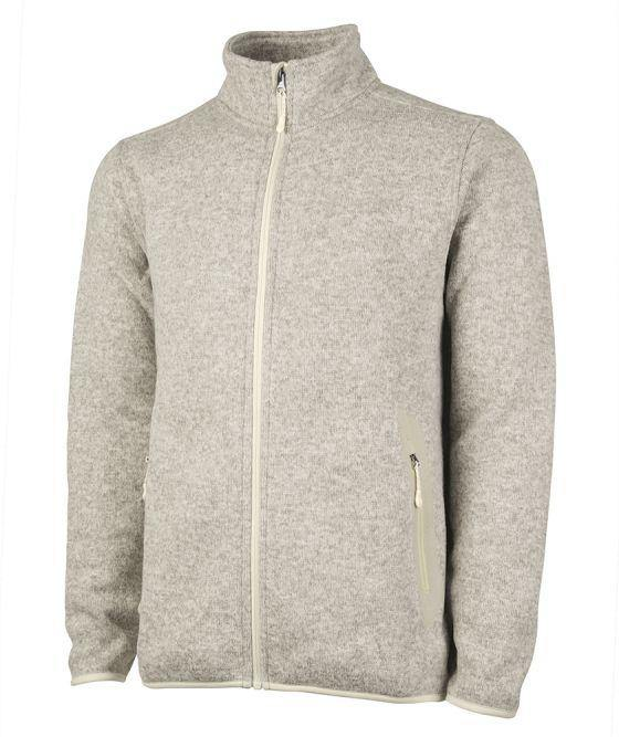 Charles River Apparel Men's Heathered Fleece Jacket