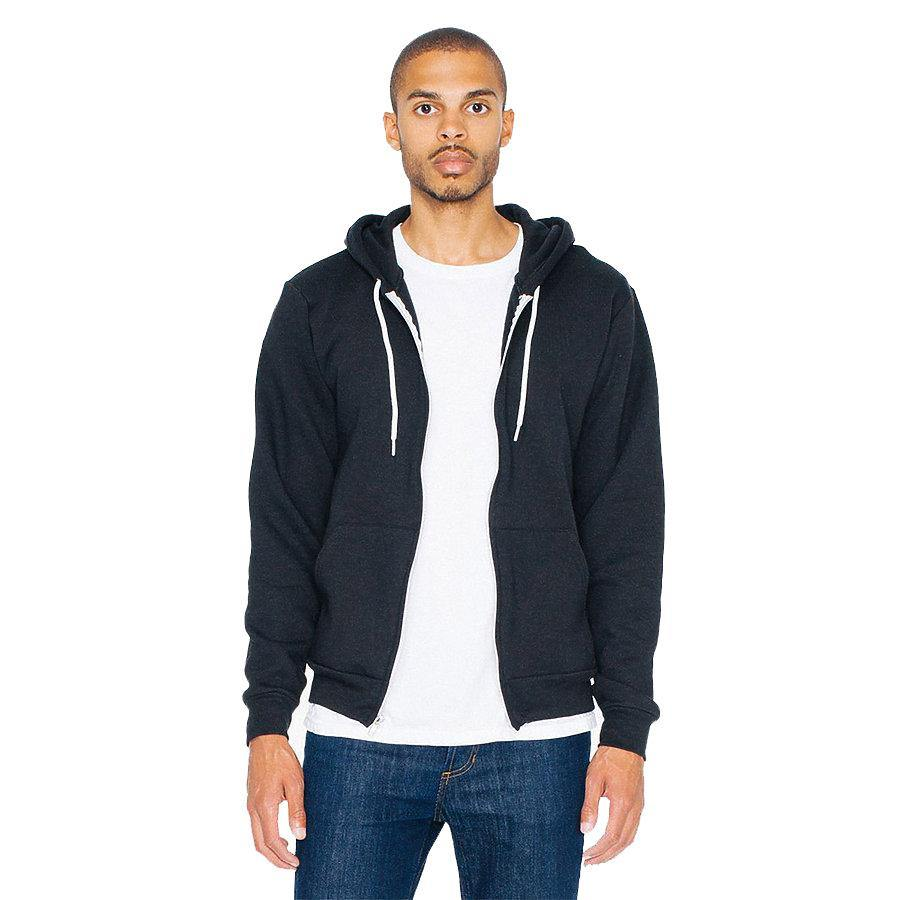 American Apparel Flex Fleece Zip Hoodie
