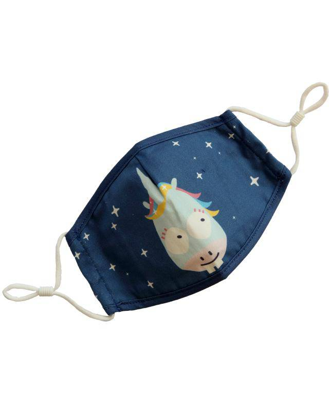 Jack N' Jill Unicorn Face Mask - Cotton
