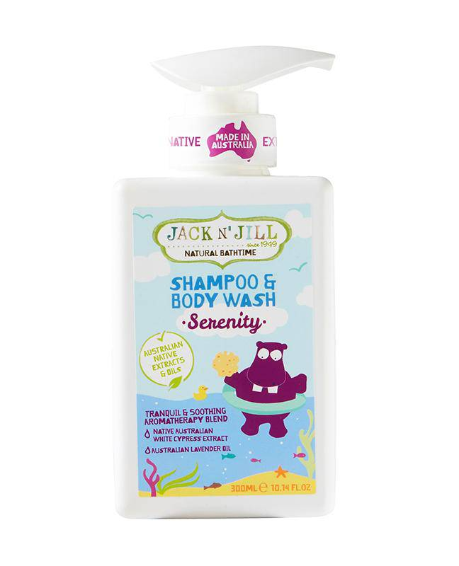 Jack N' Jill Serenity Shampoo & Body Wash - Natural 300mL