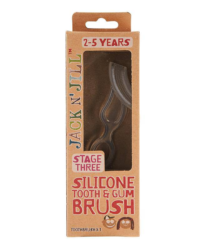 Jack N' Jill Stage 3 Silicone Tooth & Gum Brush