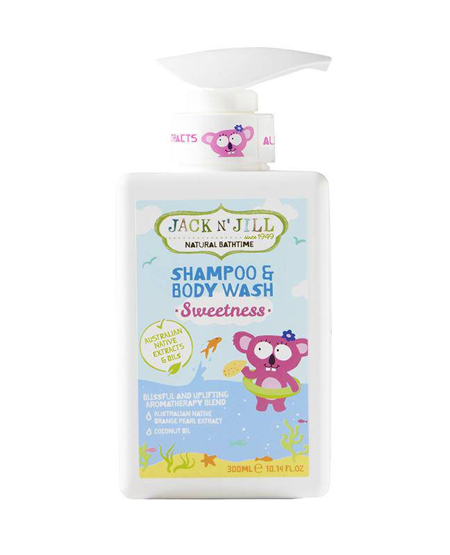Jack N' Jill Sweetness Shampoo & Body Wash - Natural 300mL