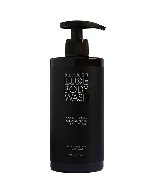 Planet Luxe Body Wash - Coconut Oil, Orange Pearl & Ylang Ylang 500mL