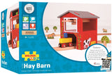 Bigjigs Rail Hay Barn - Other Major Wooden Rail Brands are Compatible Brio