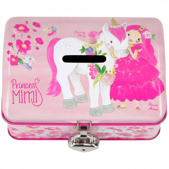 Princess Mimi Saving Tin Box