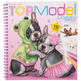Create your TOP Model Doggy Colouring Book