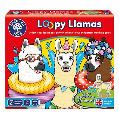 Orchard Toys Loopy Llamas Game ( 4 Years+)