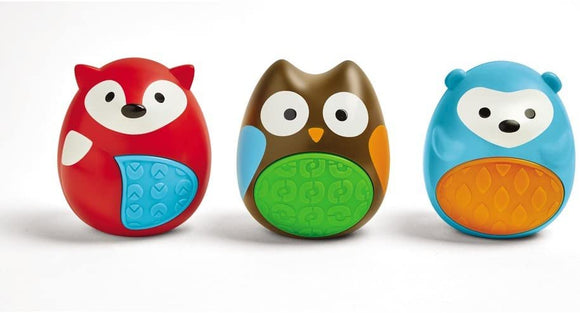 Skip Hop Explore and More Egg Shaker Trio Set 3M+