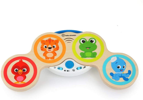 E11650 Baby Einstein™ Magic Touch Drums™ Wooden Drum Musical Toy, Ages 6 months to 36 months