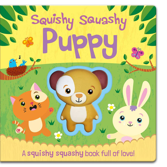 Squishy Squashy Puppy (Squishy Squashy Books) Board book – 1 Oct. 2019 by Jenny Copper (Author)