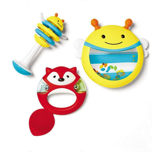 The Skip Hop Explore and More Musical Instrument 3 Piece From 6 Months