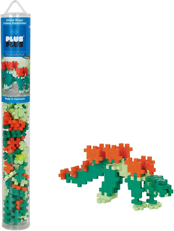 Plus plus stegosaurus 100 pieces Age 5-12