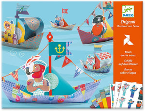 Origami Floating Boats by Djeco DJ08779
