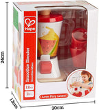 Hape E3158 Smoothie Blender Multicolour Kitchen Smoothie Machine Play Set Complete with Cups and Straws