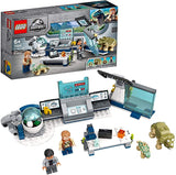 LEGO 75939 Jurassic World Dr. Wu's Lab: Baby Dinosaurs Breakout Toy with Owen Minifigure