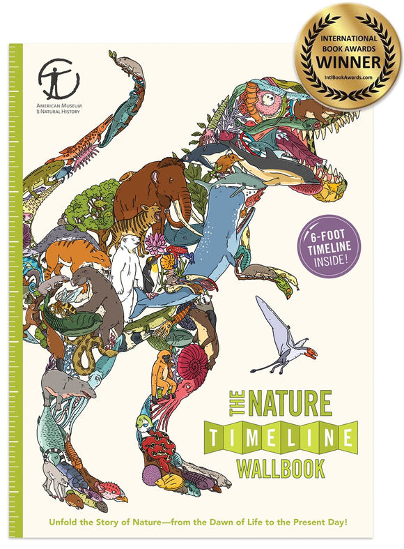 The Nature Timeline Wallbook (What on Earth Wallbook Series) by Christopher Lloyd  (Author), Andy Forshaw (Illustrator) Hardback