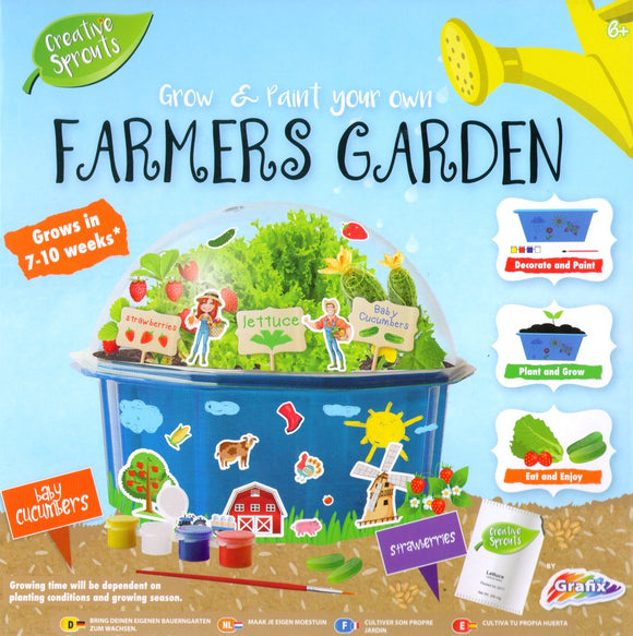 RMS Grow and Paint Your Own Farmers Garden