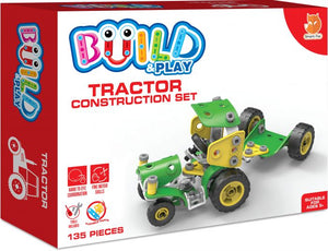 Smart Fox Build And Play Tractor Age 5+ Like Meccano