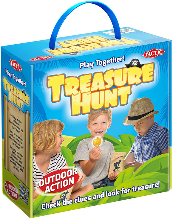Tactic 54901 Treasure Hunt Game, Mixed Age 5 to Adult  for 2 players